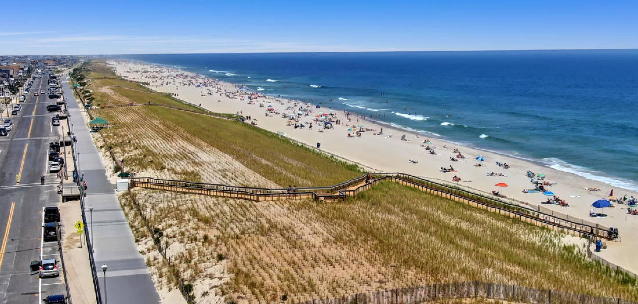 Seaside New Jersey Shoreline